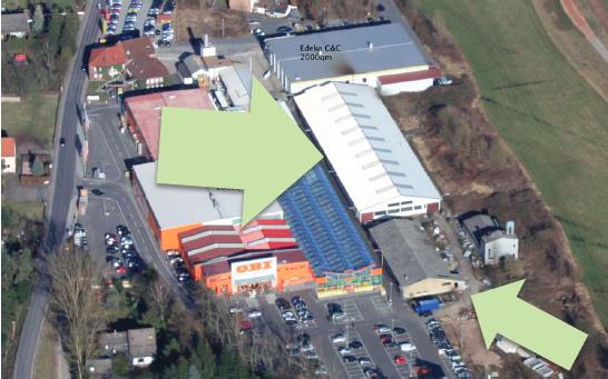 Vermietung Gewerbehallen und Büro in 63897 Miltenberg/Main